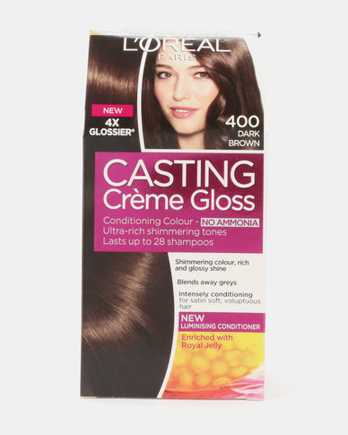 L'Oreal Casting Creme Gloss Dark Brown 400