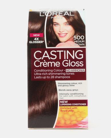 L'Oreal Casting Creme Gloss Medium Brown 500
