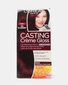 L'Oreal Casting Creme Gloss Black Cherry 360
