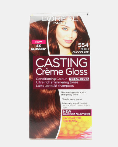 L'Oreal Casting Creme Gloss Spicy Choco 554