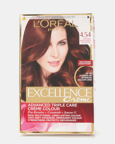 L'Oreal Excellence Natural Dark Copper Mahogony