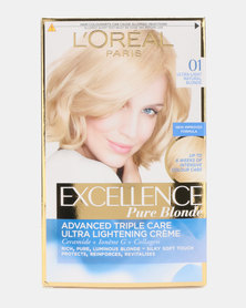 L'Oreal Excellence Creme Lightest Natural Blonde 01