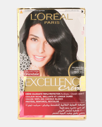 L'Oreal Excellence Creme Black