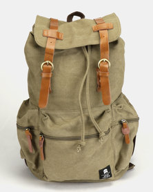 St Goliath Max Backpack Army/Tan