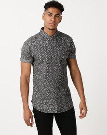 Deacon Artic Short Sleeve Shirt Grey
