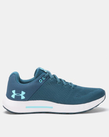 Under Armour W Micro G Pursuit Running Shoes Static Blue