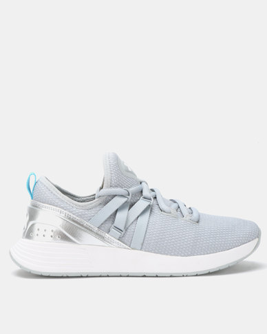 Under Armour W Breathe Trainers Overcast Grey/Silver