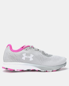 Under Armour W Charged Spark Running Shoes Metallic Silver