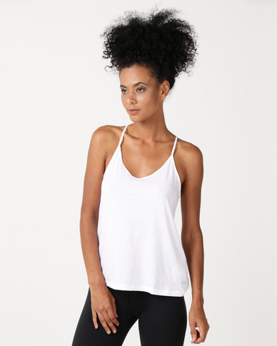 Under Armour Solid Fashion Tank White