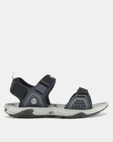Hi-Tec Defcon Sandals Navy/White