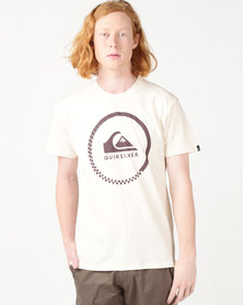 Quiksilver Active Logo 2 Tee Neutral