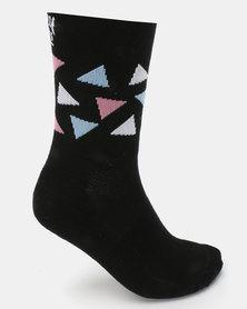 Sexy Socks Diamonds Cycling Socks Multi