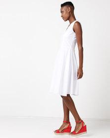Lunar Emma Dress White