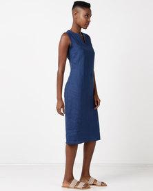 Lunar Lorenza Dress Blue