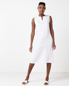 Lunar Lorenza Dress White