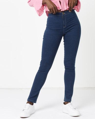 Legit Tube Skinny Jeans Med Wash