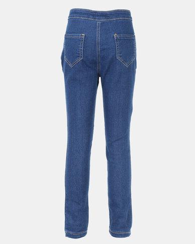 Legit Tube Skinny Jeans Ink