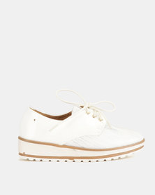 Dolce Vita Derby Lace Ups White