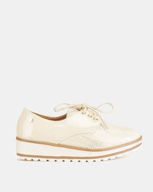 Dolce Vita Lace Up's Nude