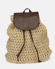 Utopia Woven Backpack Natural