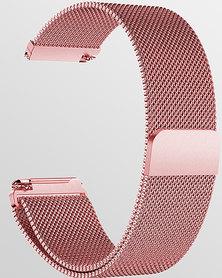 Gretmol Rose Pink Milanese Fitbit Versa Replacement Strap