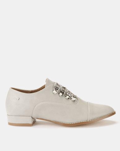 Miss Black Attigone Man Shoes Silver