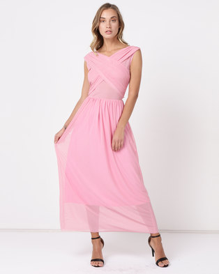 aca423c01fd SassyChic Marilyn Dress Soft Pink