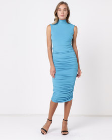 SassyChic Candice Dress Candy Blue