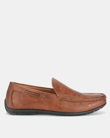 Bata Men's Casual Moccasins Brown