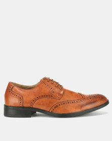 Bata Mens Formal Shoes Brown