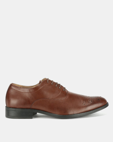 Bata Mens Formal Shoes Brown