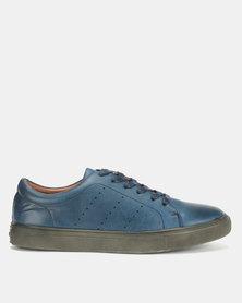 Bata Mens City Sneakers Navy
