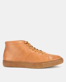Bata Mens City Sneakers Brown