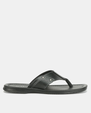 Bata Mens Sandals Black