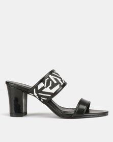 Marie Claire Heeled Sandals Black