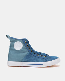 Tomy Takkies Ladies Hi-Tops Denim