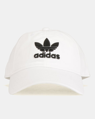 a0dd41f05bd adidas Originals Trefoil Cap White Black