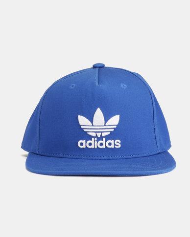 3698e51cb6e adidas Originals AC Cap Tre Flat Blue