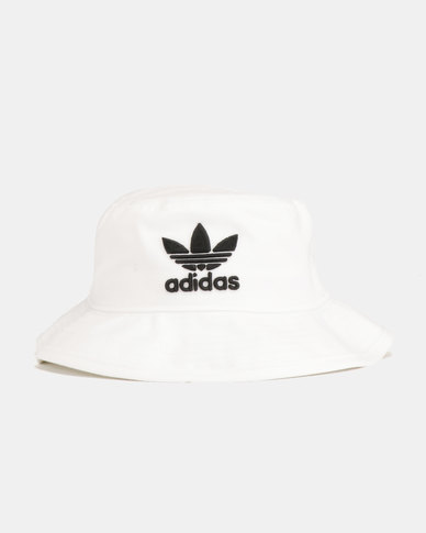 29bf0959240 adidas Originals Bucket Hat Ac White