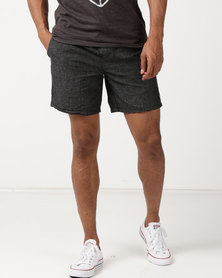 St Goliath Catalyst Pull On Shorts Black