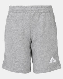 adidas Originals YB Logo Shorts Grey