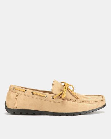 Utopia Casual Bow Moccasins Camel