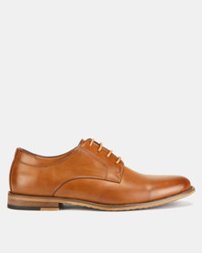 Utopia Formal Lace Ups Tan