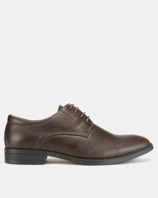 Utopia Formal Lace Ups Coffee