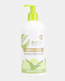 B.O.N Natural Oils 100% Natural Body Wash with Eucalyptus & Lime Oil