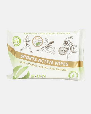 B.O.N Natural Oils Sports Wipes