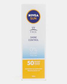 Nivea Sun Shine Control Face Cream Spf 50 50ml