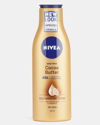 Nivea Body Cocoa Butter Moisturiser 250ml