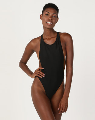 86f01a24e17 Thabooty s Party For One Monokini Black