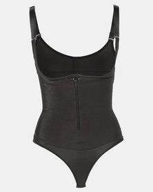 Thabooty's In My Feelings Bodysuit Shapewear Black